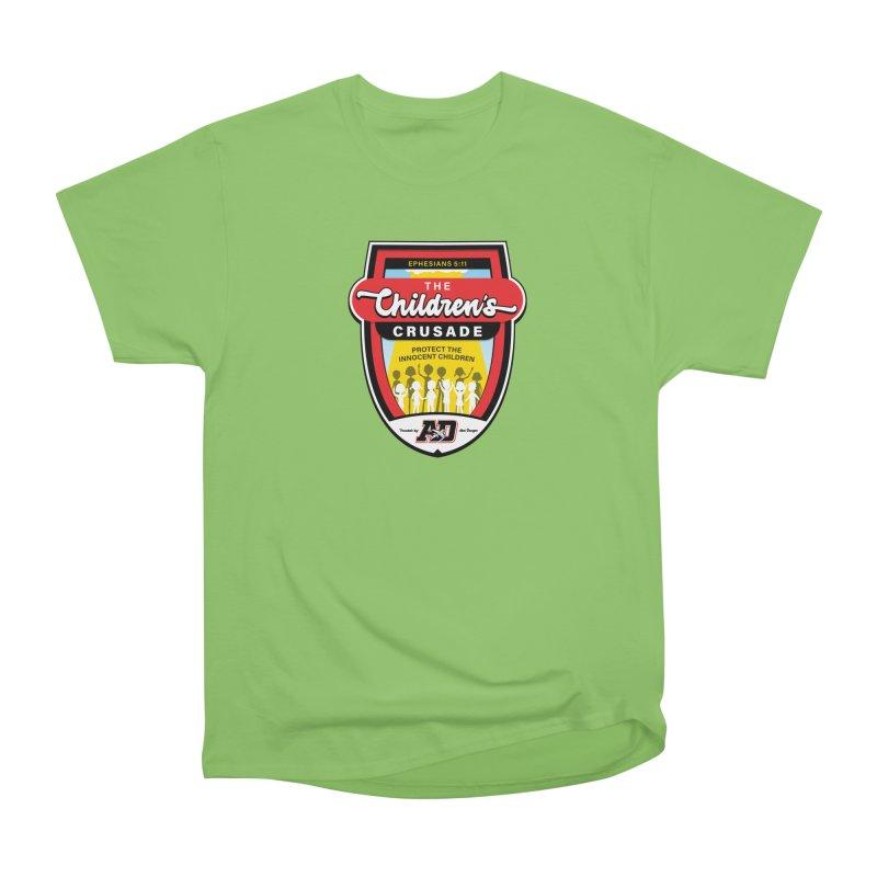 THE CHILDRENS CRUSADE Women's Heavyweight Unisex T-Shirt by Abel Danger Artist Shop