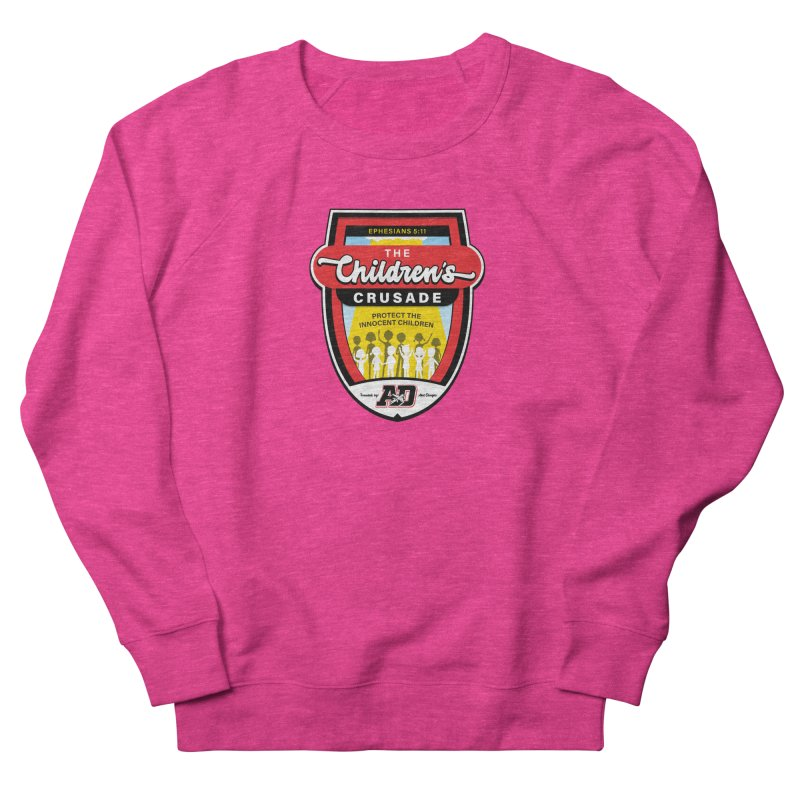 THE CHILDRENS CRUSADE Women's French Terry Sweatshirt by Abel Danger Artist Shop