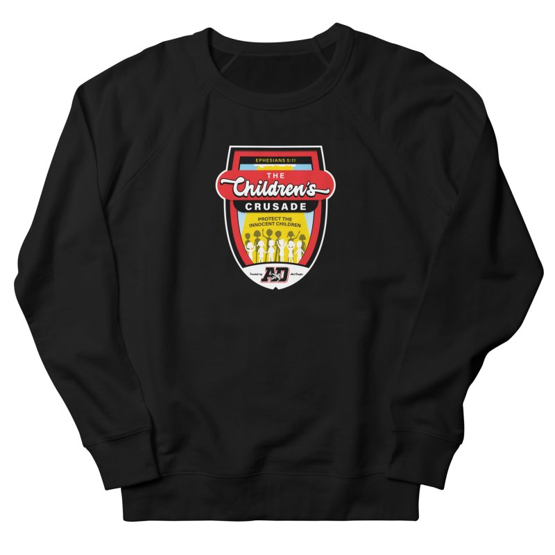 THE CHILDRENS CRUSADE Men's French Terry Sweatshirt by Abel Danger Artist Shop