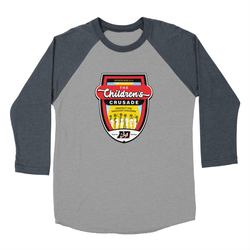 THE CHILDRENS CRUSADE Men's Baseball Triblend Longsleeve T-Shirt by Abel Danger Artist Shop
