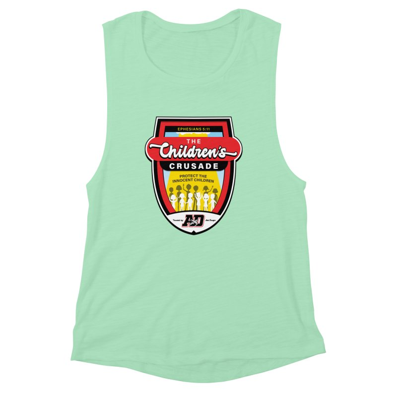 THE CHILDRENS CRUSADE Women's Muscle Tank by Abel Danger Artist Shop