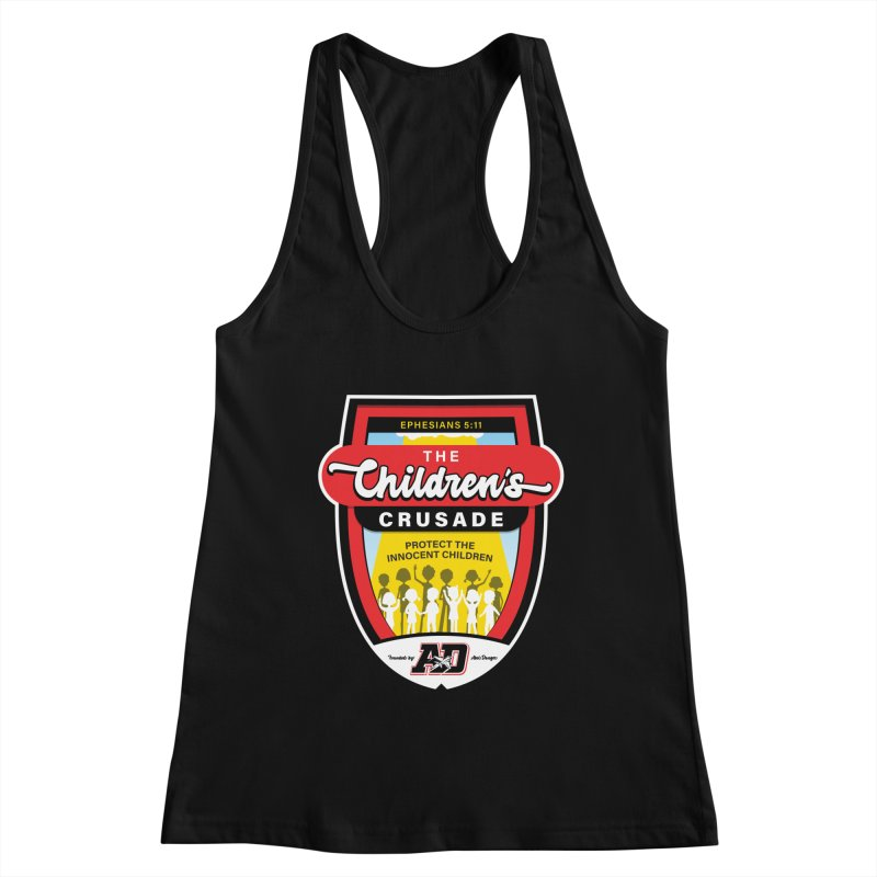 THE CHILDRENS CRUSADE Women's Racerback Tank by Abel Danger Artist Shop