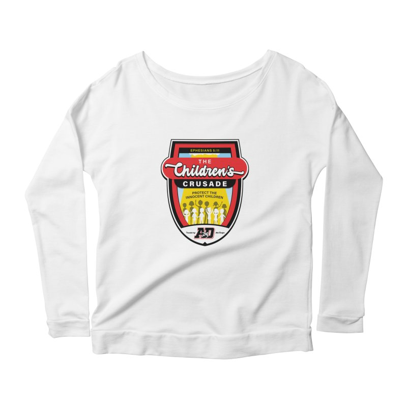 THE CHILDRENS CRUSADE Women's Scoop Neck Longsleeve T-Shirt by Abel Danger Artist Shop