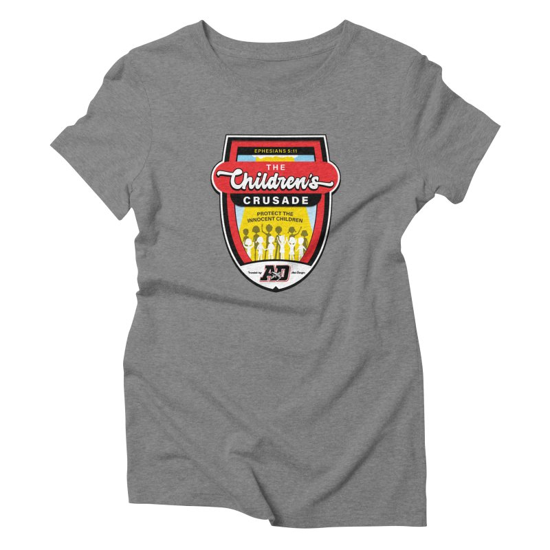 THE CHILDRENS CRUSADE Women's Triblend T-Shirt by Abel Danger Artist Shop