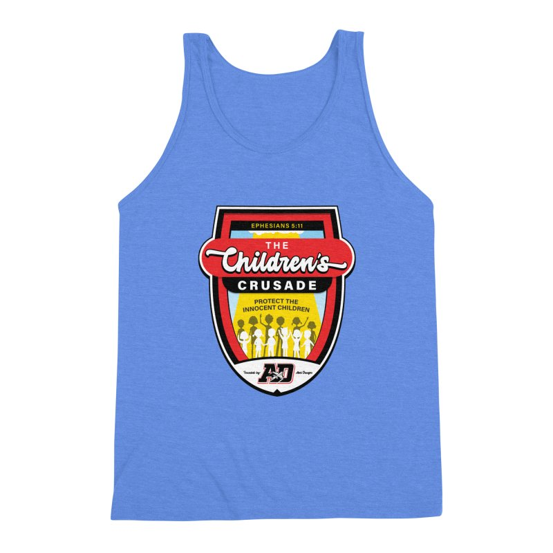 THE CHILDRENS CRUSADE Men's Triblend Tank by Abel Danger Artist Shop