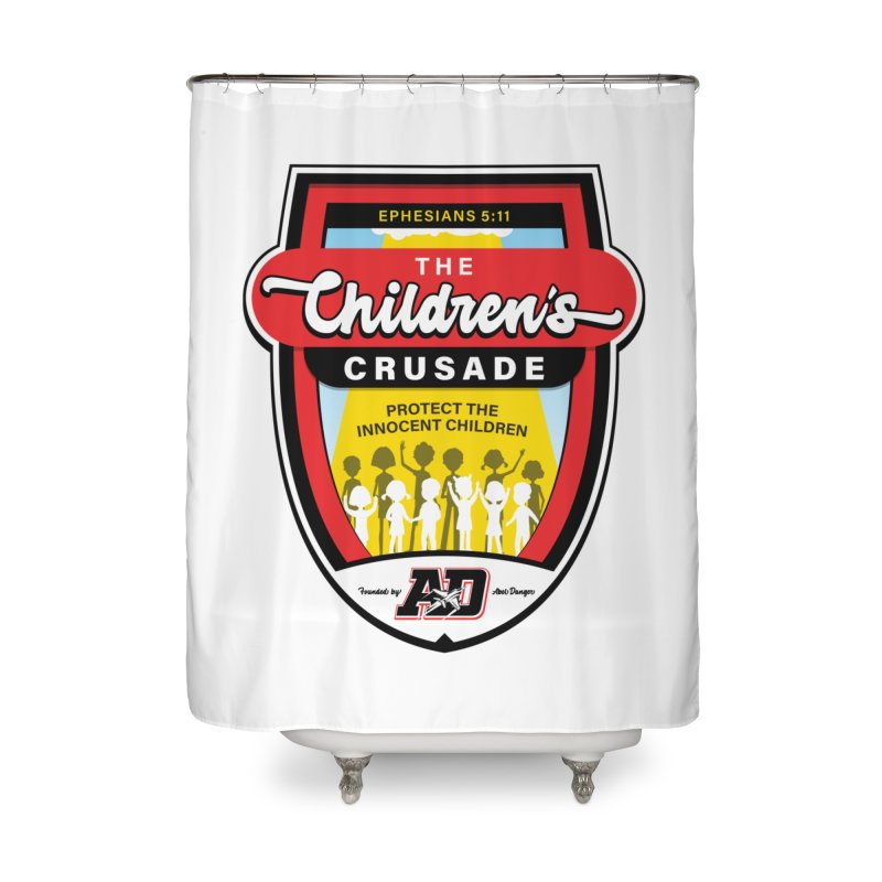 THE CHILDRENS CRUSADE Home Shower Curtain by Abel Danger Artist Shop