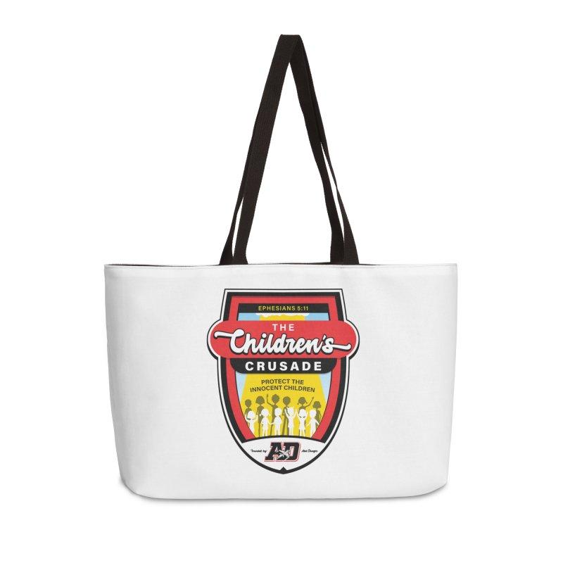 THE CHILDRENS CRUSADE Accessories Weekender Bag Bag by Abel Danger Artist Shop