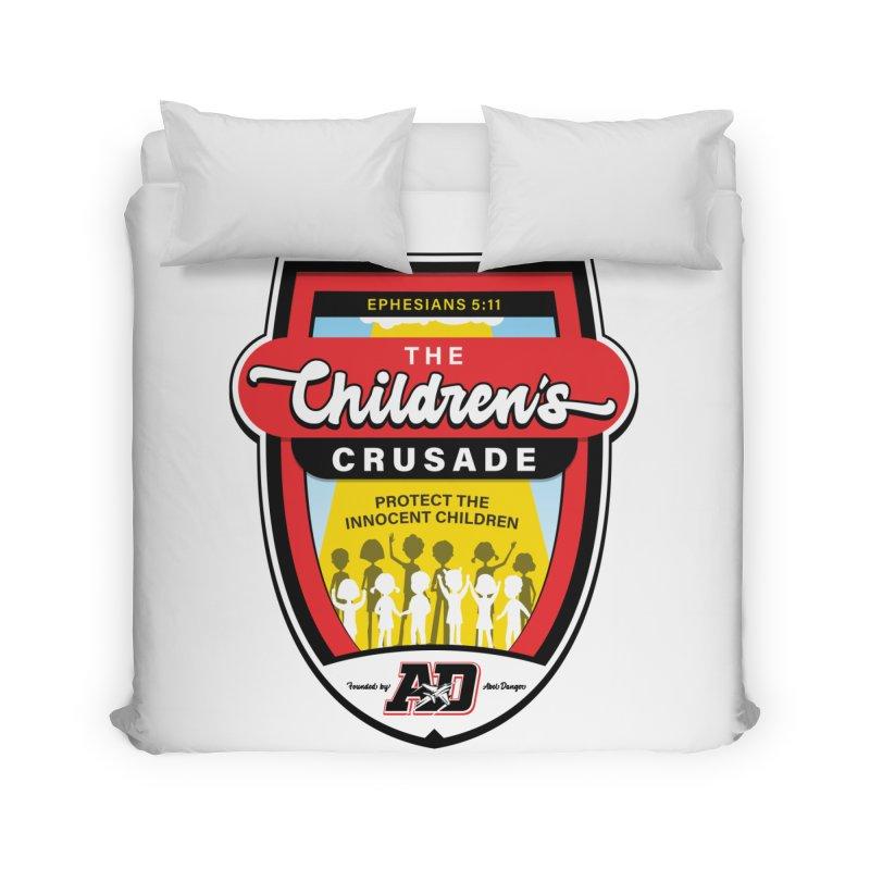 THE CHILDRENS CRUSADE Home Duvet by Abel Danger Artist Shop