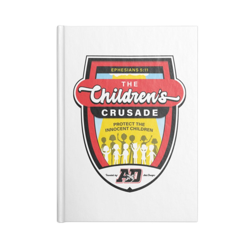 THE CHILDRENS CRUSADE Accessories Lined Journal Notebook by Abel Danger Artist Shop