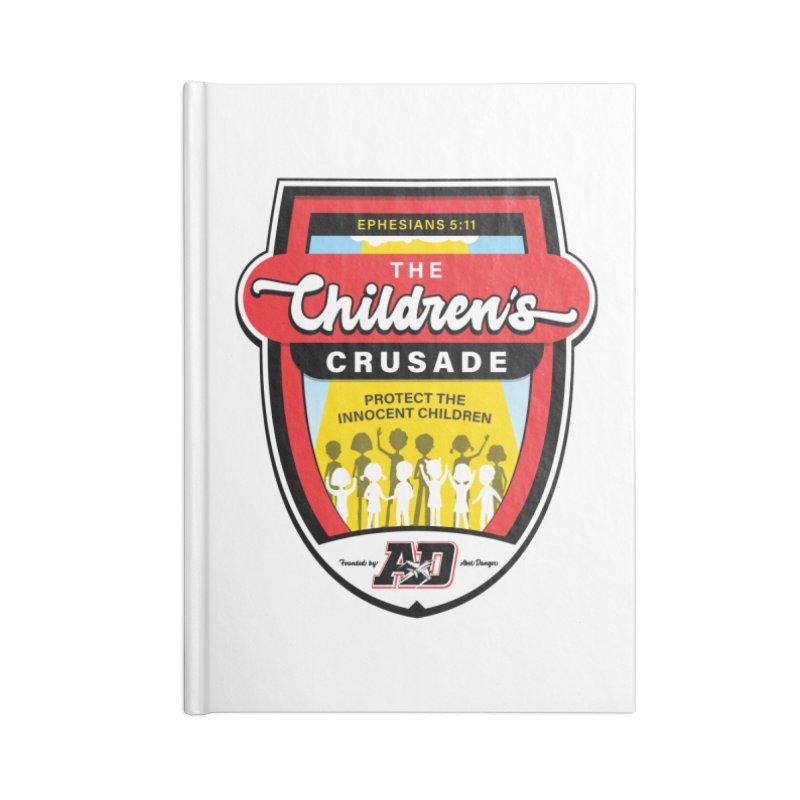 THE CHILDRENS CRUSADE Accessories Blank Journal Notebook by Abel Danger Artist Shop