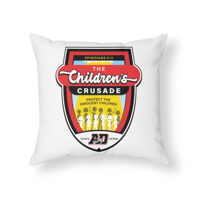 THE CHILDRENS CRUSADE Home Throw Pillow by Abel Danger Artist Shop