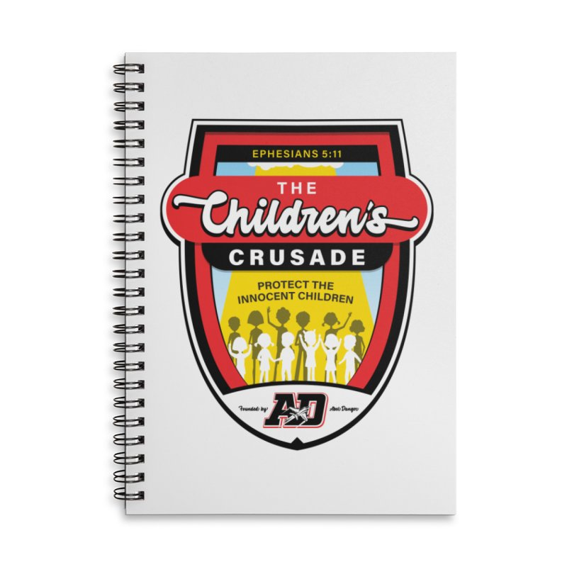 THE CHILDRENS CRUSADE Accessories Lined Spiral Notebook by Abel Danger Artist Shop