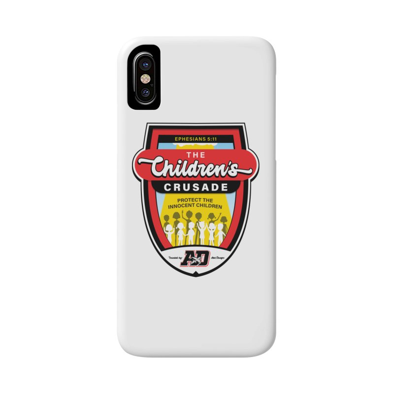 THE CHILDRENS CRUSADE Accessories Phone Case by Abel Danger Artist Shop