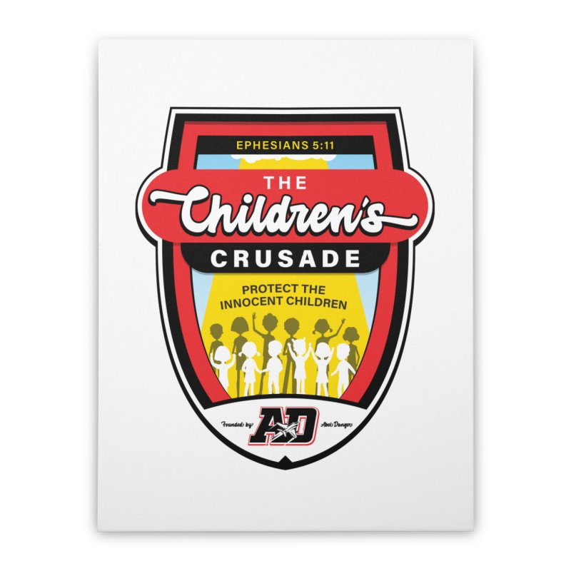 THE CHILDRENS CRUSADE Home Stretched Canvas by Abel Danger Artist Shop
