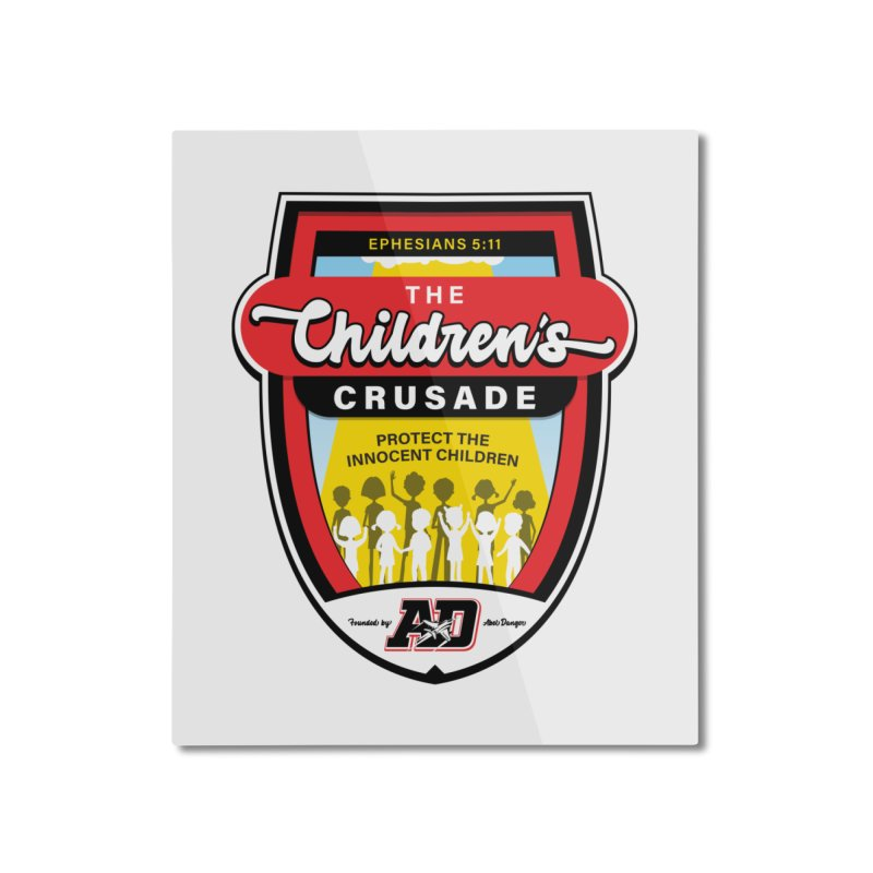 THE CHILDRENS CRUSADE Home Mounted Aluminum Print by Abel Danger Artist Shop