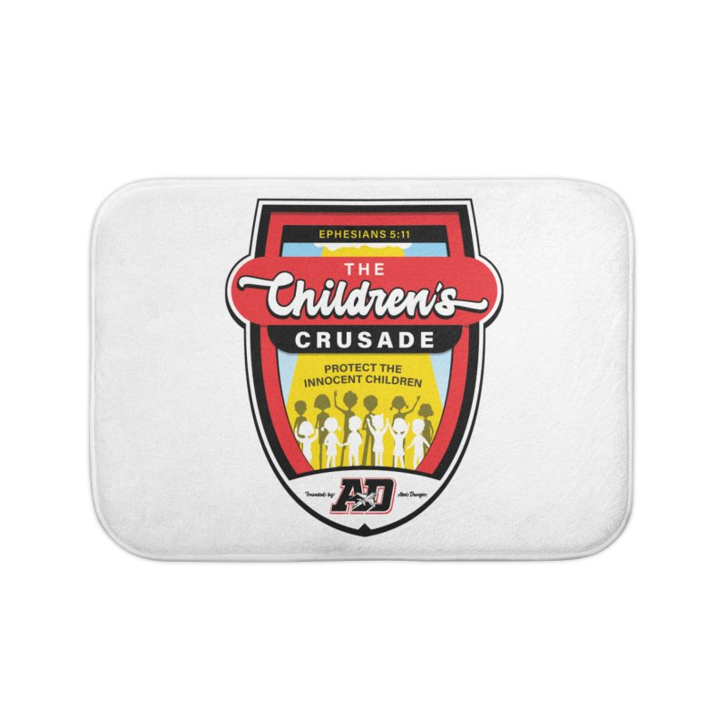 THE CHILDRENS CRUSADE Home Bath Mat by Abel Danger Artist Shop