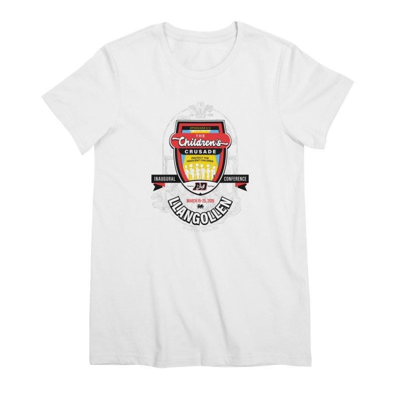 The Children's Crusade - Llangollen Event Women's Premium T-Shirt by Abel Danger Artist Shop