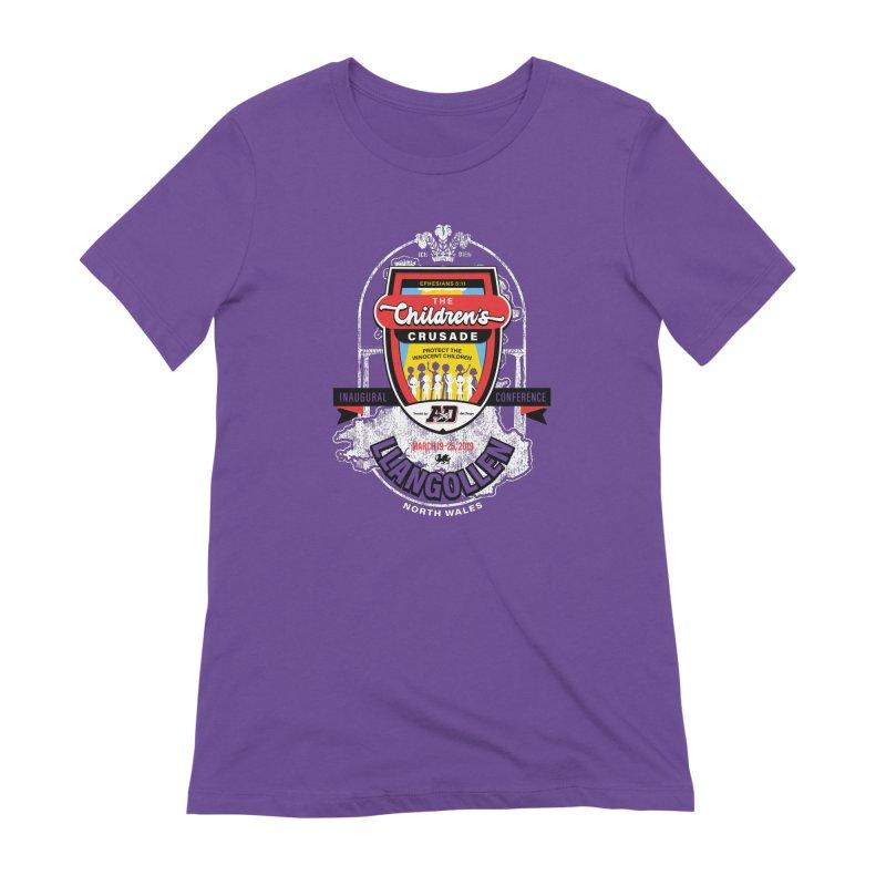 The Children's Crusade - Llangollen Event Women's Extra Soft T-Shirt by Abel Danger Artist Shop
