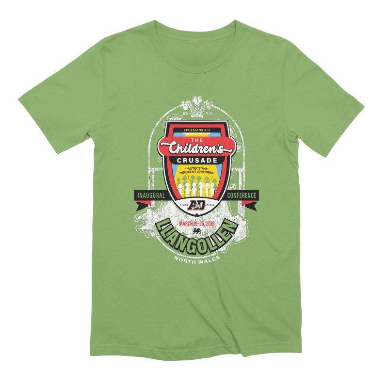 The Children's Crusade - Llangollen Event Men's Extra Soft T-Shirt by Abel Danger Artist Shop
