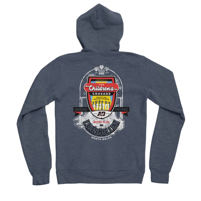 The Children's Crusade - Llangollen Event Men's Sponge Fleece Zip-Up Hoody by Abel Danger Artist Shop
