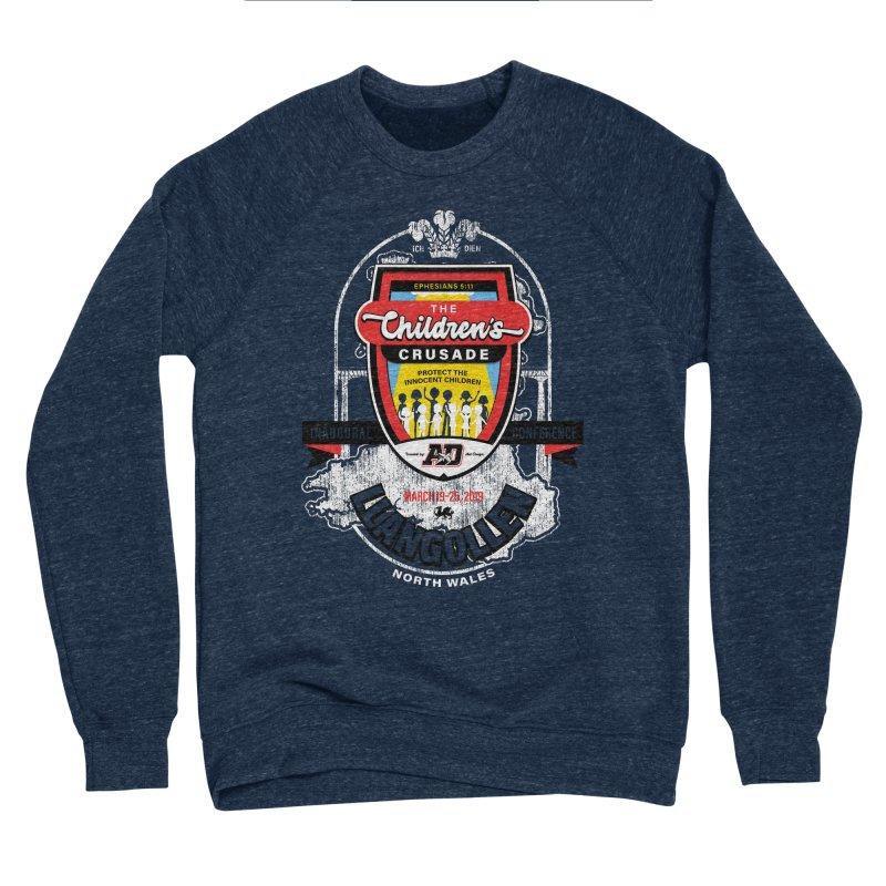 The Children's Crusade - Llangollen Event Men's Sponge Fleece Sweatshirt by Abel Danger Artist Shop