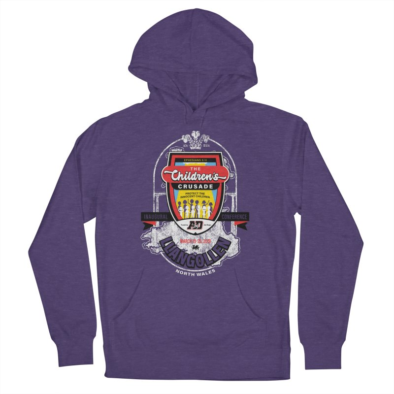 The Children's Crusade - Llangollen Event Women's French Terry Pullover Hoody by Abel Danger Artist Shop