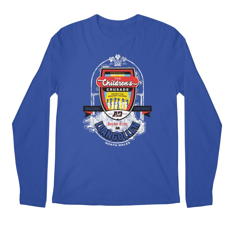 The Children's Crusade - Llangollen Event Men's Regular Longsleeve T-Shirt by Abel Danger Artist Shop