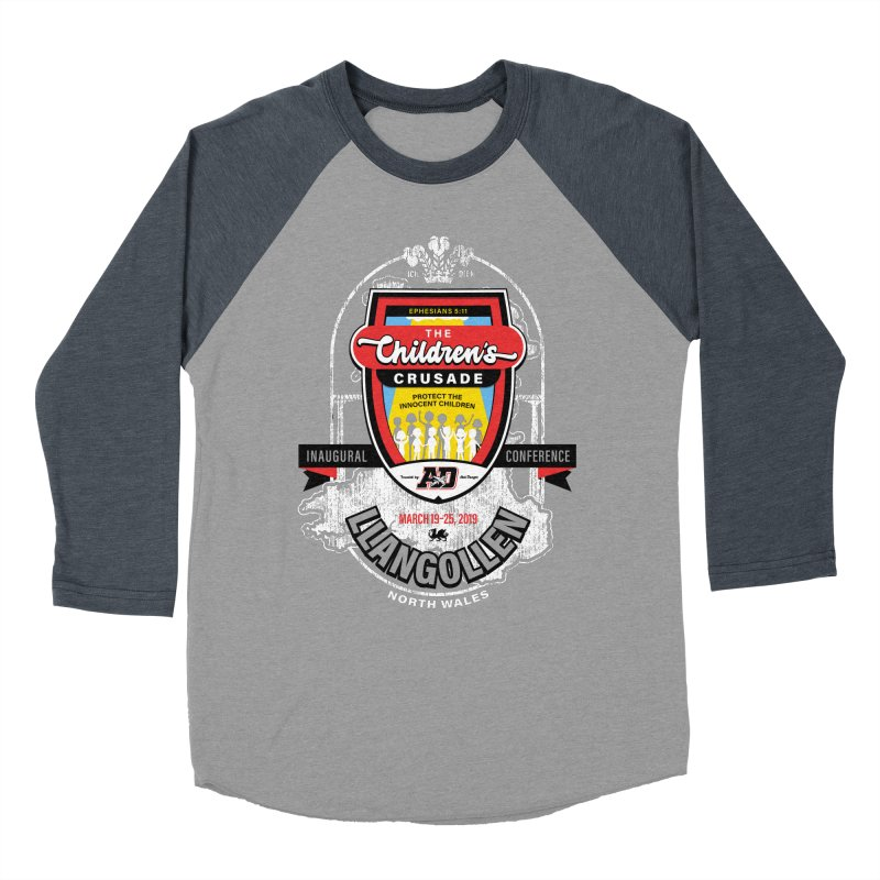 The Children's Crusade - Llangollen Event Women's Baseball Triblend Longsleeve T-Shirt by Abel Danger Artist Shop