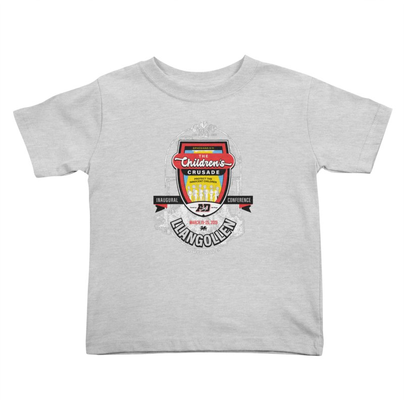 The Children's Crusade - Llangollen Event Kids Toddler T-Shirt by Abel Danger Artist Shop