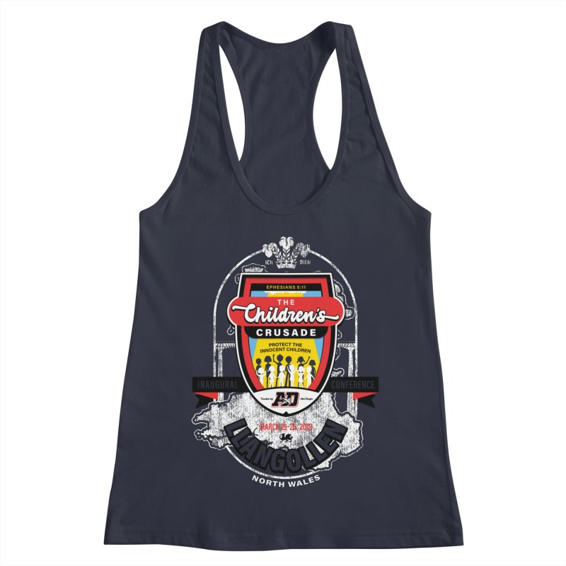 The Children's Crusade - Llangollen Event Women's Racerback Tank by Abel Danger Artist Shop