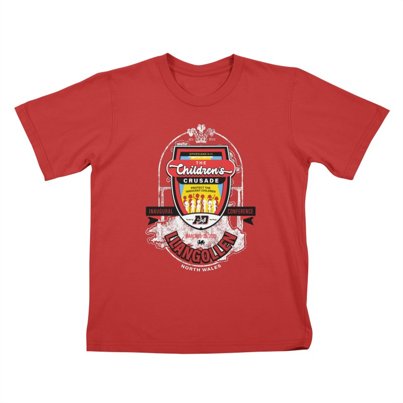 The Children's Crusade - Llangollen Event Kids T-Shirt by Abel Danger Artist Shop