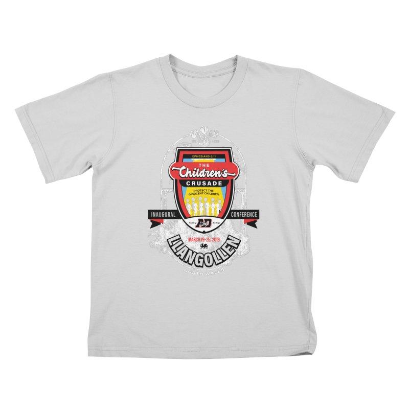 The Children's Crusade - Llangollen Event Kids T-Shirt by Abel Danger Artist Shop