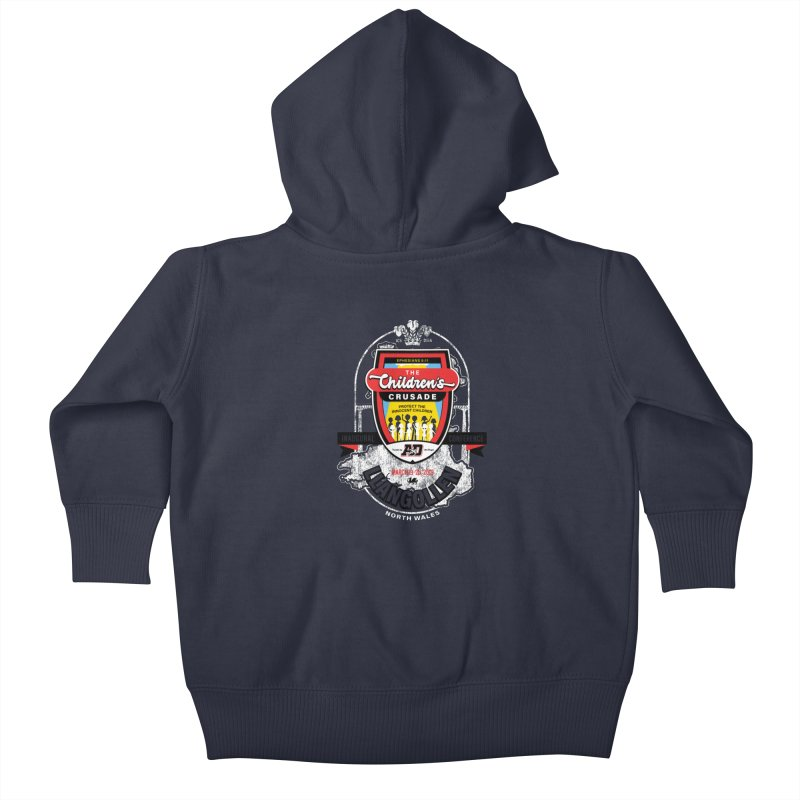 The Children's Crusade - Llangollen Event Kids Baby Zip-Up Hoody by Abel Danger Artist Shop