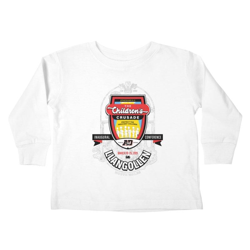 The Children's Crusade - Llangollen Event Kids Toddler Longsleeve T-Shirt by Abel Danger Artist Shop
