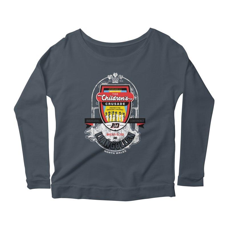 The Children's Crusade - Llangollen Event Women's Scoop Neck Longsleeve T-Shirt by Abel Danger Artist Shop