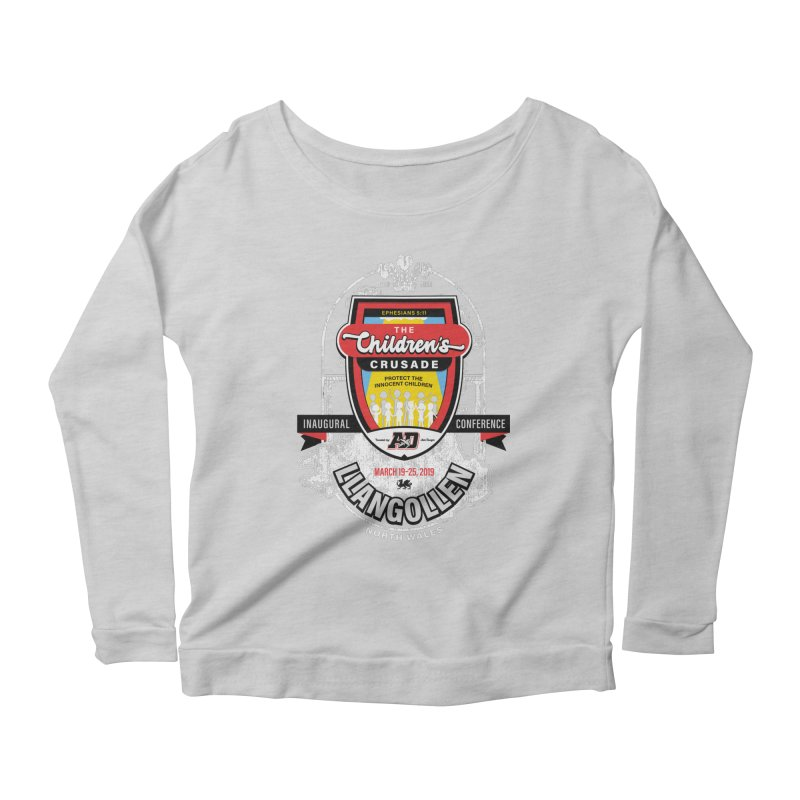 The Children's Crusade - Llangollen Event Women's Scoop Neck Longsleeve T-Shirt by Abel Danger Artist Shop