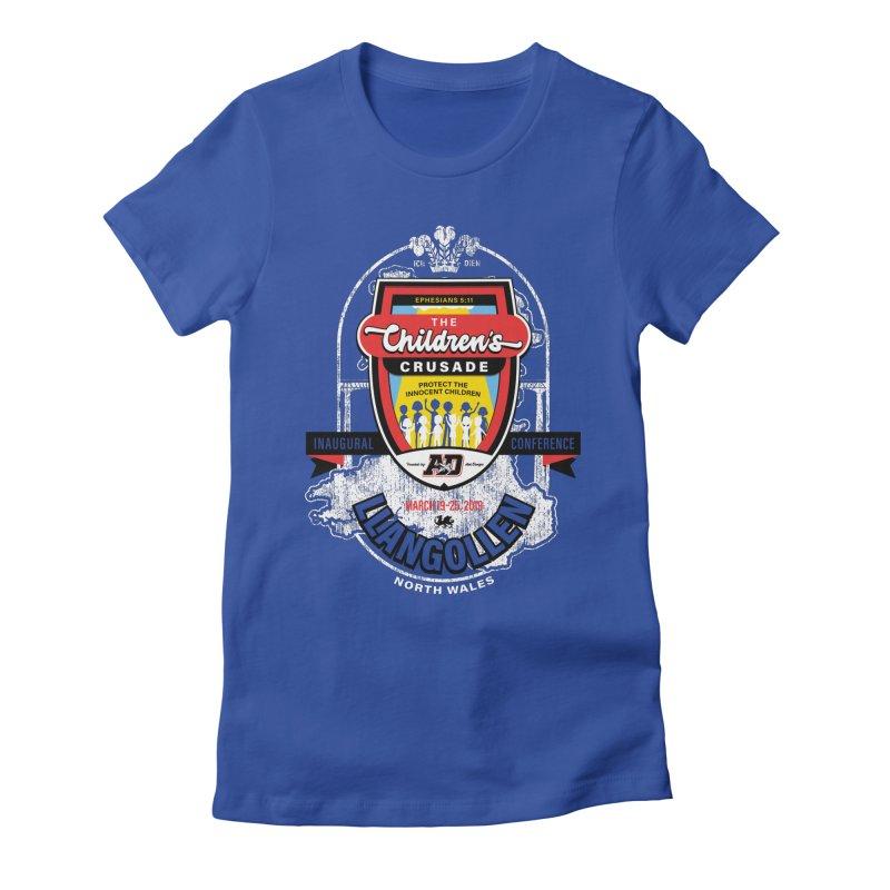 The Children's Crusade - Llangollen Event Women's Fitted T-Shirt by Abel Danger Artist Shop