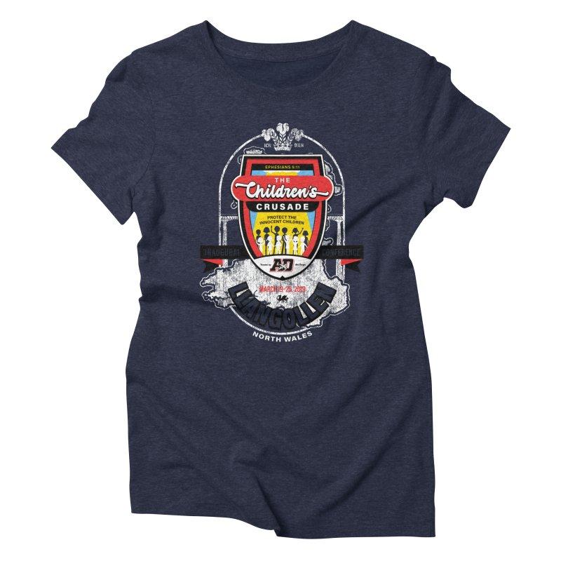 The Children's Crusade - Llangollen Event Women's Triblend T-Shirt by Abel Danger Artist Shop