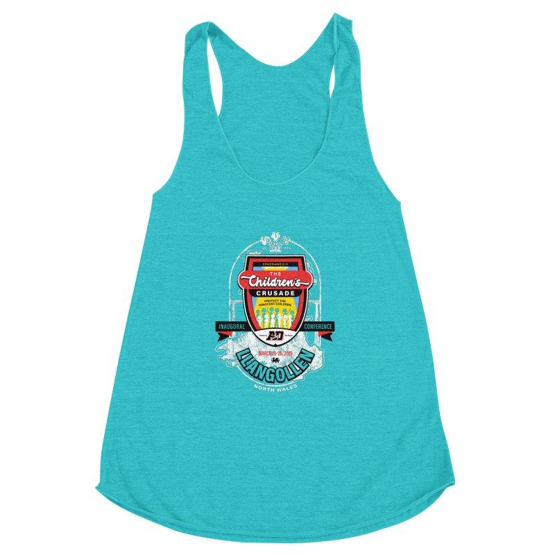 The Children's Crusade - Llangollen Event Women's Racerback Triblend Tank by Abel Danger Artist Shop