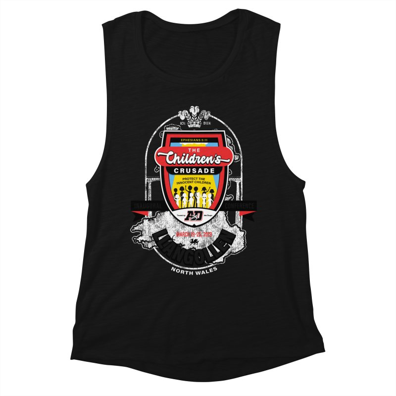 The Children's Crusade - Llangollen Event Women's Muscle Tank by Abel Danger Artist Shop