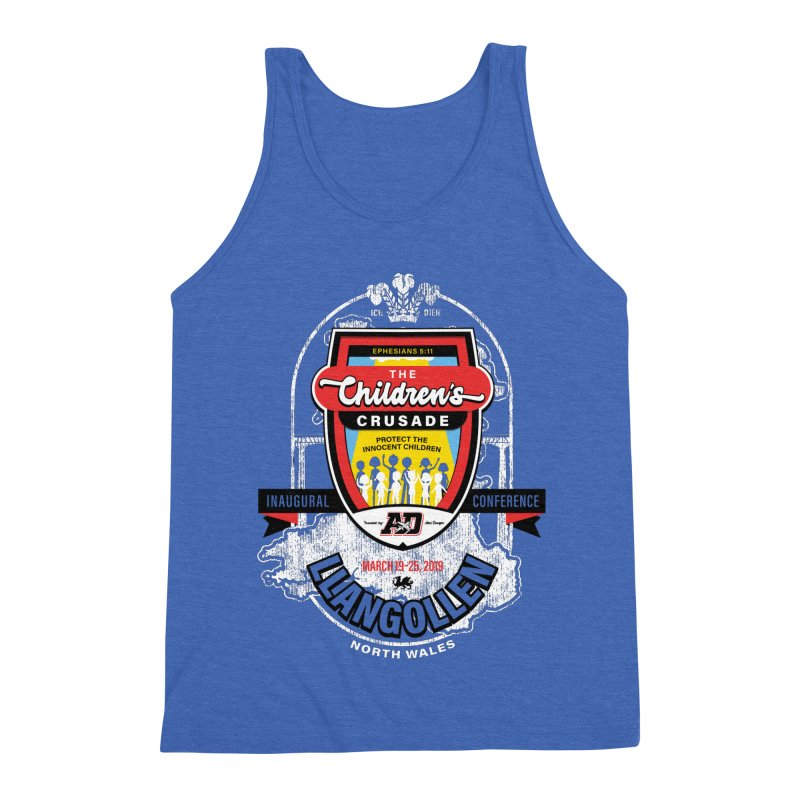 The Children's Crusade - Llangollen Event Men's Triblend Tank by Abel Danger Artist Shop