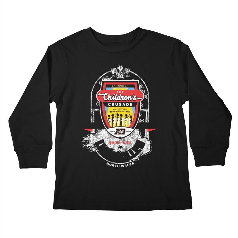 The Children's Crusade - Llangollen Event Kids Longsleeve T-Shirt by Abel Danger Artist Shop