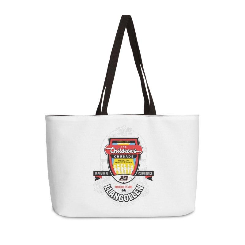 The Children's Crusade - Llangollen Event Accessories Weekender Bag Bag by Abel Danger Artist Shop