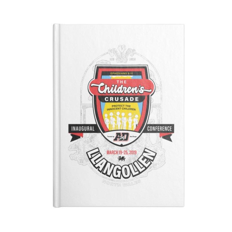 The Children's Crusade - Llangollen Event Accessories Lined Journal Notebook by Abel Danger Artist Shop