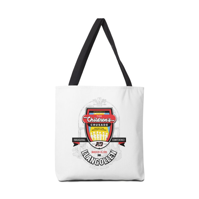 The Children's Crusade - Llangollen Event Accessories Tote Bag Bag by Abel Danger Artist Shop