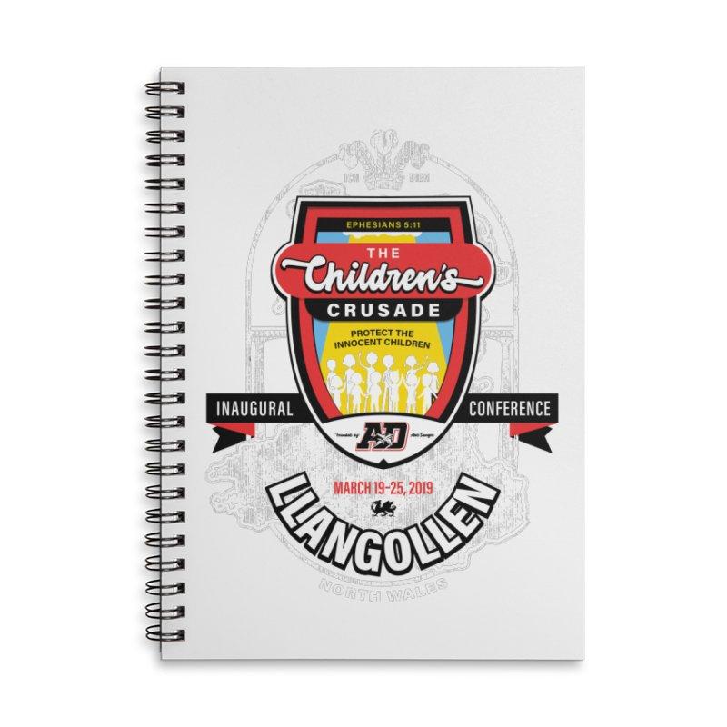 The Children's Crusade - Llangollen Event Accessories Lined Spiral Notebook by Abel Danger Artist Shop
