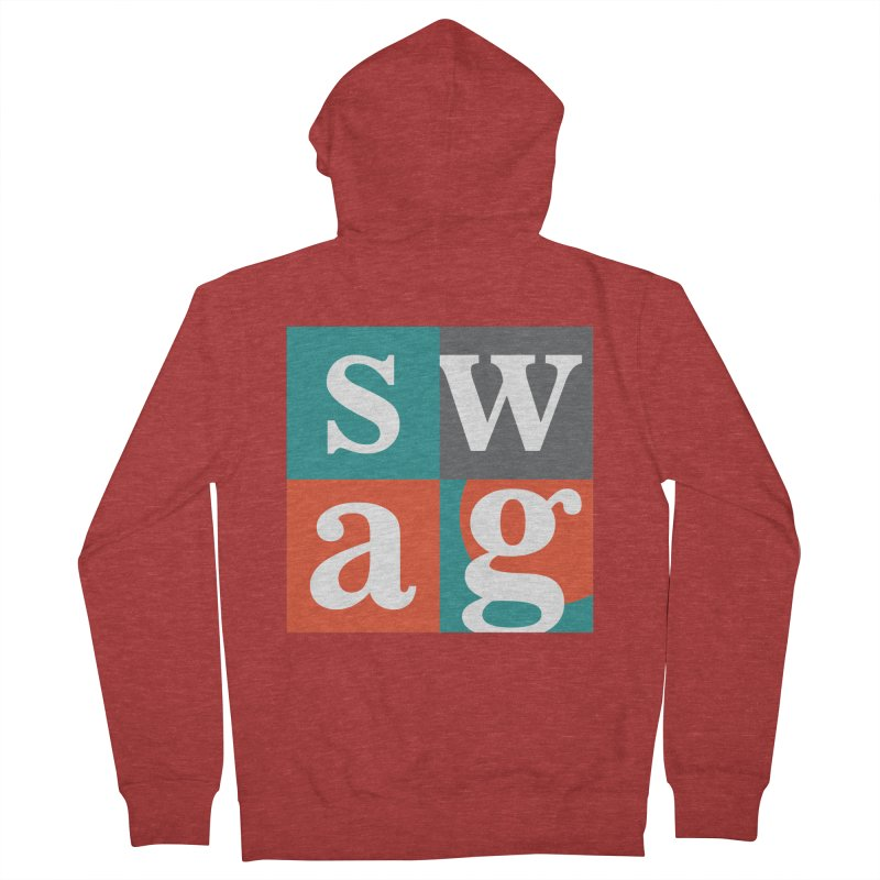 Swag Design Men's Zip-Up Hoody by abhikreationz's Artist Shop