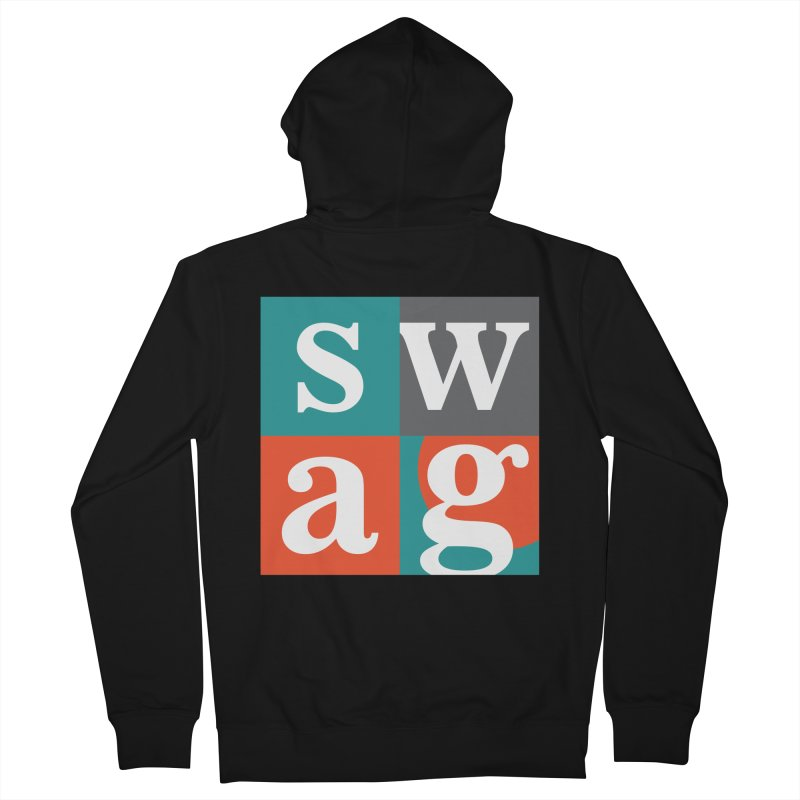 Swag Design Men's Zip-Up Hoody by abhikreationz's Artist Shop