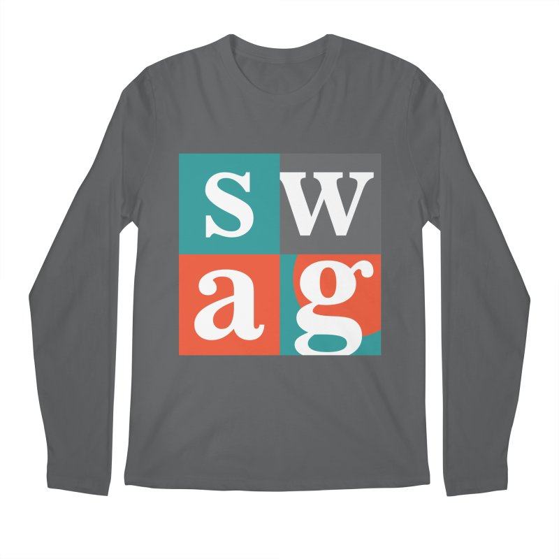 Swag Design Men's Longsleeve T-Shirt by abhikreationz's Artist Shop