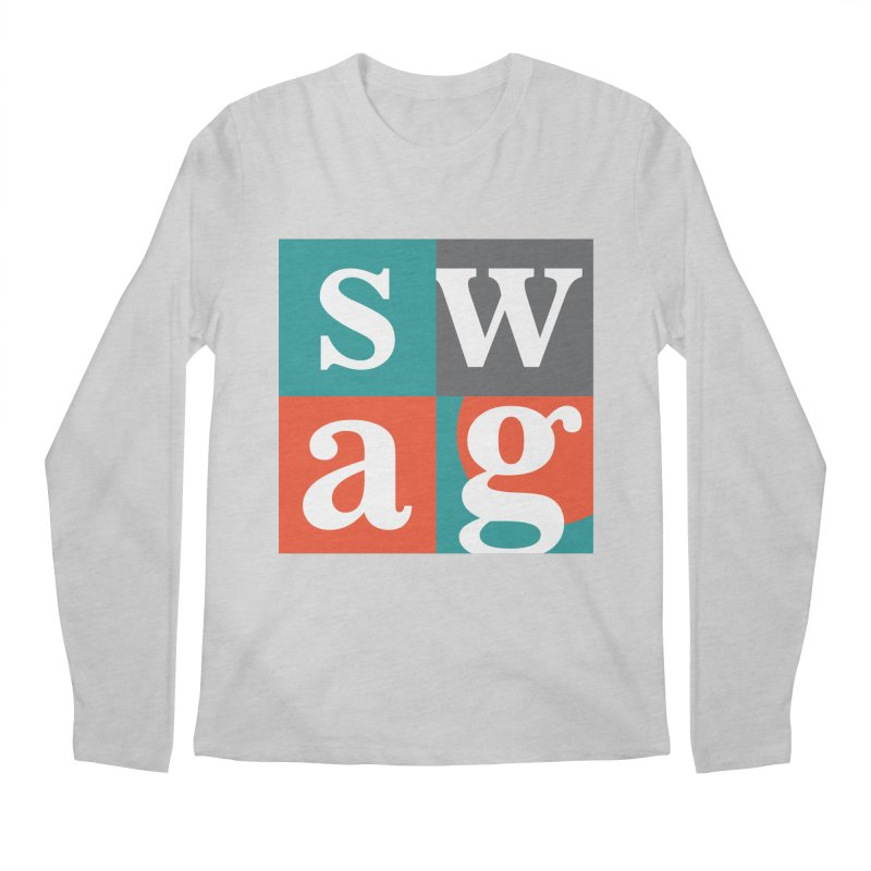 Swag Design Men's Longsleeve T-Shirt by abhikreationz's Artist Shop